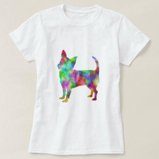 Camiseta Ropa de la chihuahua del multicolor