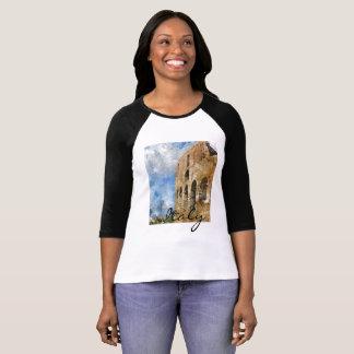 Camiseta Ropa de Roma Italia Colosseum