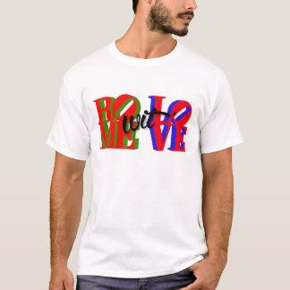 Camiseta Ropa del amor del wit de Roma