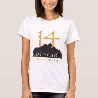Camiseta ropa del desgaste 14er