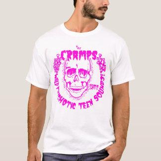 Camiseta Rosa adolescente sicopático de los sonidos