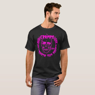Camiseta Rosa adolescente sicopático salvaje de los sonidos