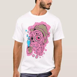Camiseta ROSA burbujeante del lío