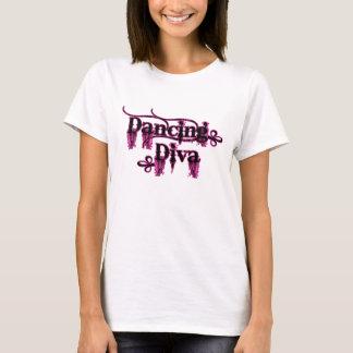 Camiseta Rosa de la diva del baile