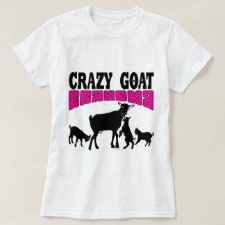 Camiseta Rosa loco GYG de la abuela de la cabra de la CABRA