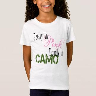 Camiseta Rosa y Camo