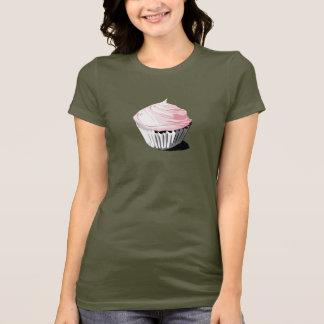 Camiseta rosada de la magdalena