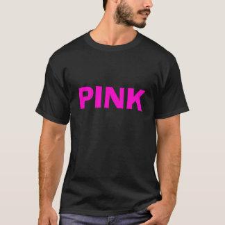 Camiseta ROSADA en negro