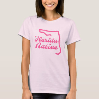 Camiseta rosada Floridian nativa de la Florida