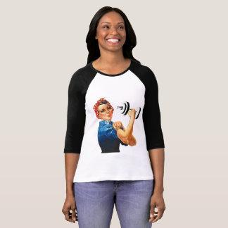 Camiseta Rosie el levantador del poder