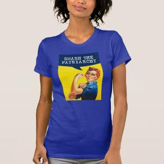 Camiseta Rosie el poster del remachador - choque el