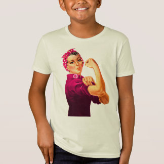 Camiseta Rosie el remachador - rosa del cáncer