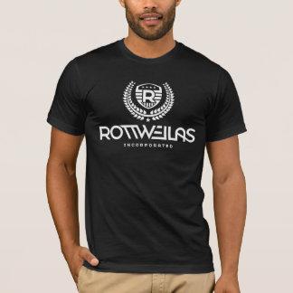 Camiseta Rottweilas - hombres - negro