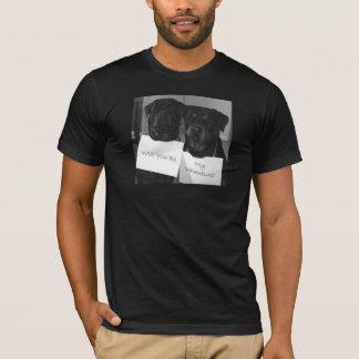 Camiseta Rottweiler Tarjeta del día de San Valentín-Para