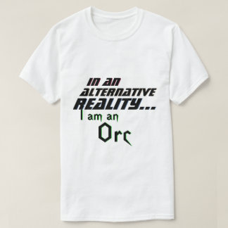 Camiseta RPG alternativo de Orc de la realidad