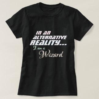 Camiseta RPG alternativo del mago de la realidad