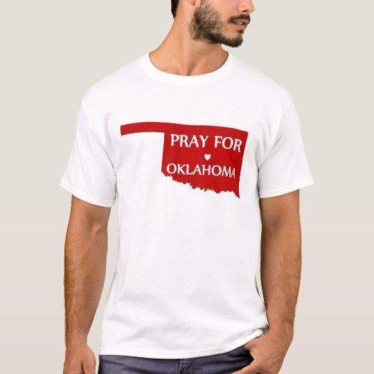Camiseta Ruegue para Oklahoma