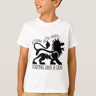 Camiseta Rugido como un león
