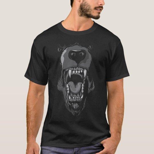 Camiseta rugido del oso