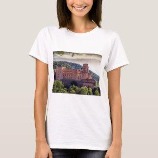Camiseta Ruinas famosas del castillo, Heidelberg, Alemania