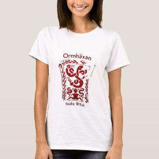 Camiseta Runa de la bruja de la serpiente de Ormhäxan