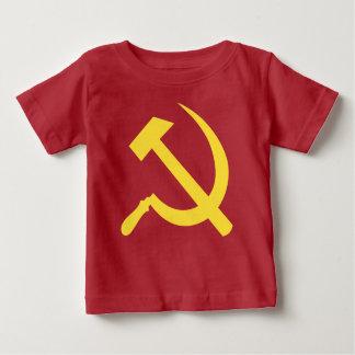 Camiseta rusa del jersey de la multa del bebé del