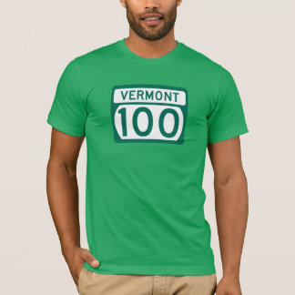 Camiseta Ruta 100, Vermont, los E.E.U.U.