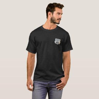 Camiseta Ruta 66 la muestra del ladrillo del camino de la