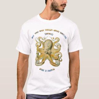 Camiseta Sabiduría china del pulpo