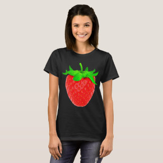 Camiseta Sacudida de fresa