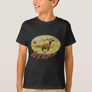 Camiseta Safari de la fauna del Hyena para hombre/camisetas