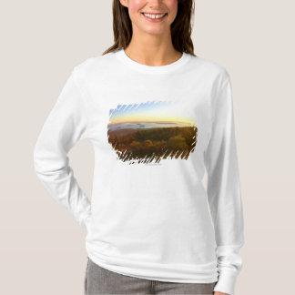 Camiseta Salida del sol en la montaña de Cadillac con los