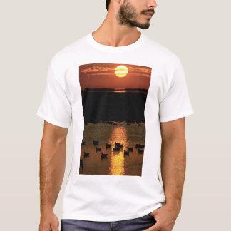 Camiseta Salida del sol en la reserva del nacional del