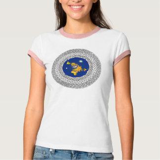 Camiseta Salmo plano 37 de la tierra