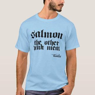 Camiseta Salmones la otra carne rosada