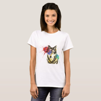 Camiseta Salpicadura del lobo