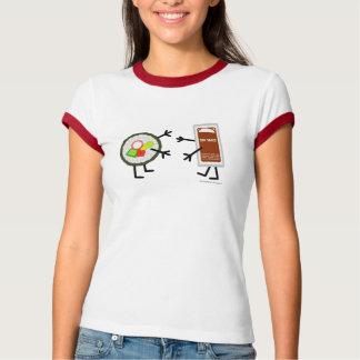Camiseta Salsa del sushi y de soja - personalizable