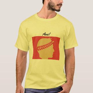 Camiseta saludo en el viejo latín - avenida latina