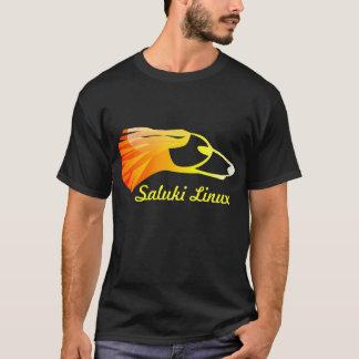 Camiseta Saluki Linux