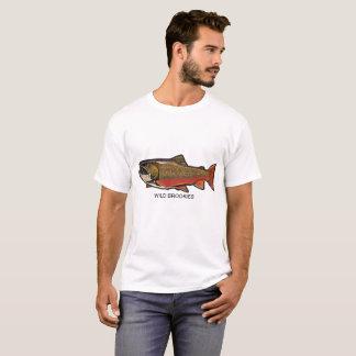Camiseta salvaje de Brookies (trucha de arroyo)