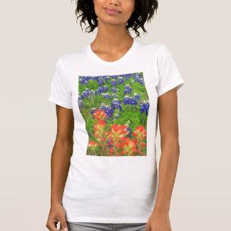 Camiseta salvaje del flower power