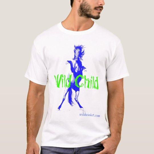 Camiseta salvaje del niño