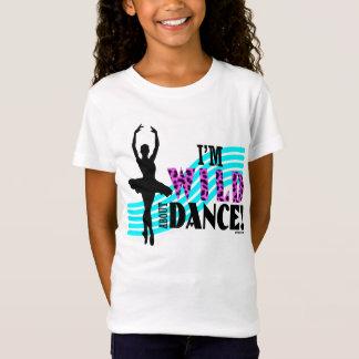 Camiseta Salvaje sobre danza