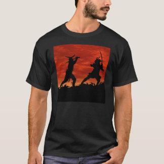 Camiseta Samurai en duelo