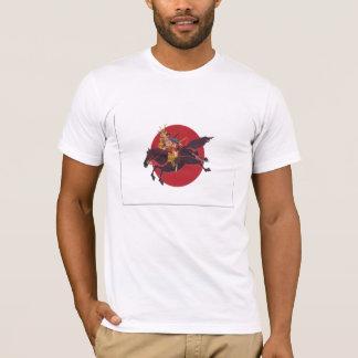 Camiseta samurai Japón