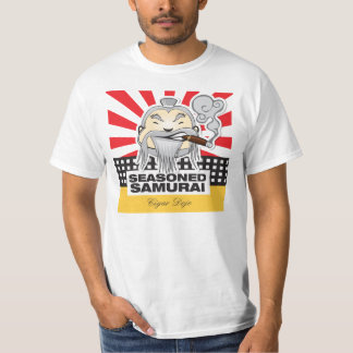 Camiseta Samurai sazonado