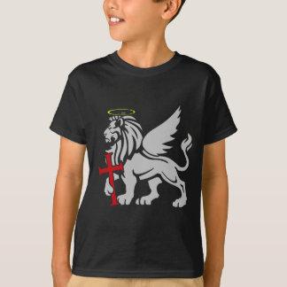 Camiseta San Marcos el emblema del escudo del apóstol