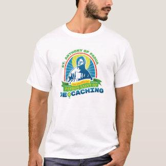 Camiseta Santo patrón oficioso de St Anthony de Geocaching