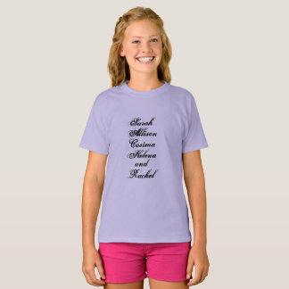 Camiseta Sarah Allison Cosima Helena y Raquel del huérfano