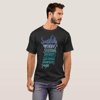 Camiseta Sardegna, idiomas